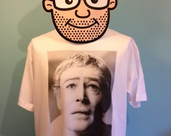 Peter O'Toole Funny Quote Florence Of Arabia T-Shirt (Noel Coward / Lawrence Of Arabia) - White Shirt
