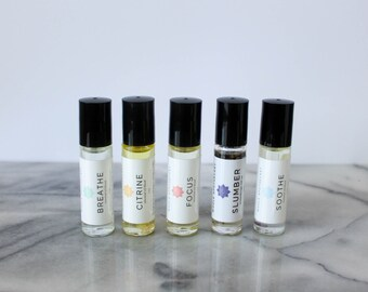 Essential Oil Blends: essential oils, aromatherapy, aromatherapy roller, essential oil roller, essential oil blend