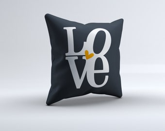 love throw pillow, pillow, throw pillow,  home pillow, pillow, 16x16, 18x18, 20x20,14x14, home decor