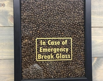 In Case of Emergency Vinyl Decal - with Border
