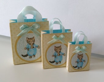 Blue Store bag for toy store o baby shop