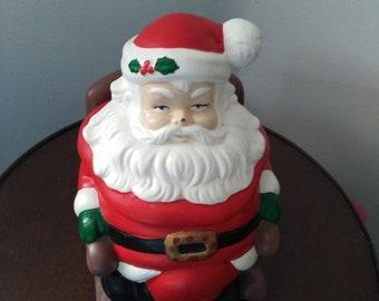 Cookie Jar, Santa Claus Rocking Cookie Jar.