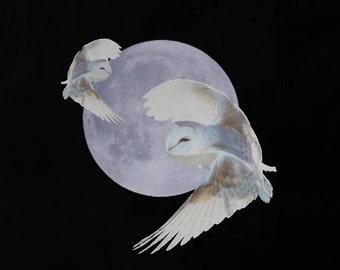 Hunters Moon Cotton Shoulder Tote Bag