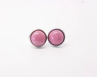 Small pink semi precious stone chips