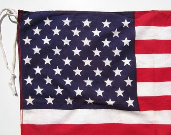 Vintage Boy Scout American Flag circa the 60's