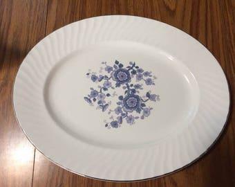 Royal Blue Platter