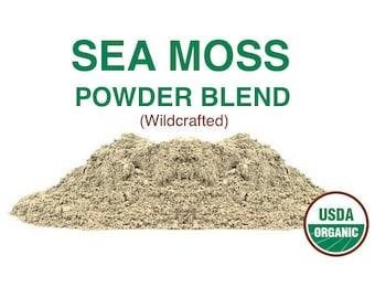 Sea Moss Powder Blend - Organic - Wildcrafted - 16 oz. (450g)
