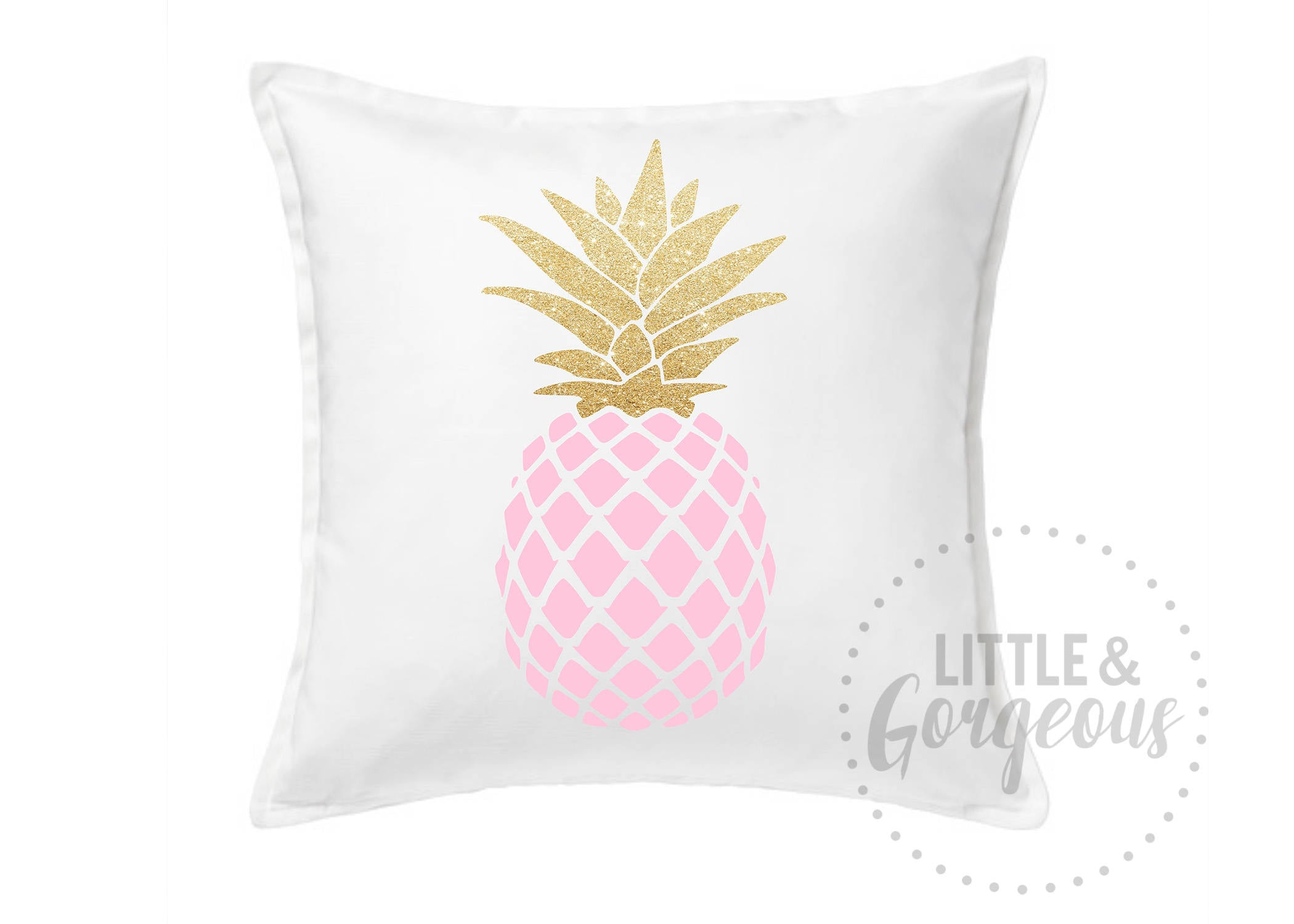 home f c pineapple pillow