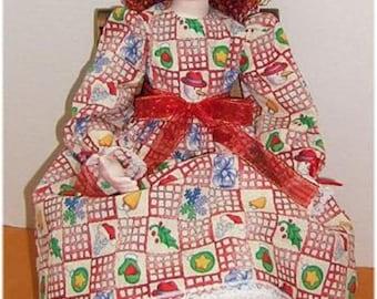 Noelle ~ Cloth Doll E-Pattern by Judi Ward