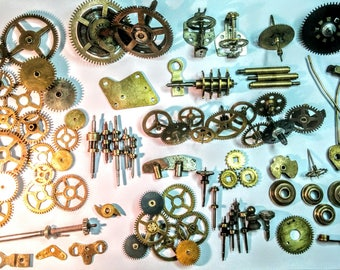 Steampunk cogs and gears and keys and more - Vintage