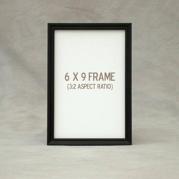 6x9 6.5x8.5 7x9 Picture Frame Peruvian Walnut dark exotic