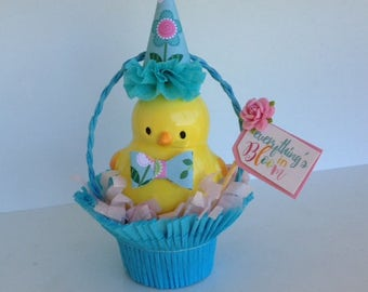 Easter Decoration Cute Chick in a Nut Cup Easter Ornament