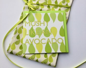 tea towel spring kitchen table avocado design green print mindful gift set new home kitchen textiles nature print wellbeing gift