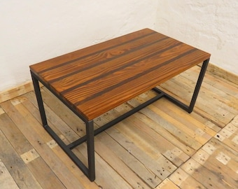 Wooden coffee table, coffee table for living room, table coffee