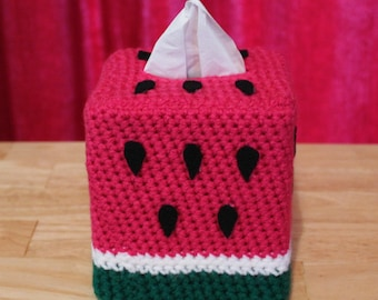 Watermelon Tissue Box Cozy