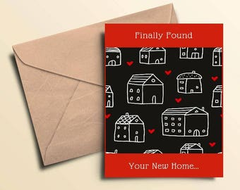 Found Your New Home Cards