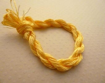 Echevette leading embroidery silk/rayon orange - thread FBSR 1169