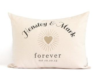 Personalized Wedding Gift, Forever Anniversary Gift, Cotton Anniversary, Custom Gift For Her, 2nd Anniversary, Linen Anniversary