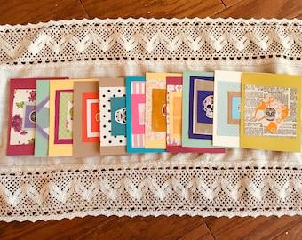 11 Sugar Skull Blank Notes with Envelopes