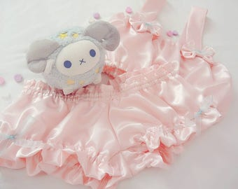 Pale Pink Satin Loungewear Set- Made to Order!