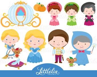 Cinderella clipart - princess clipart - 15032