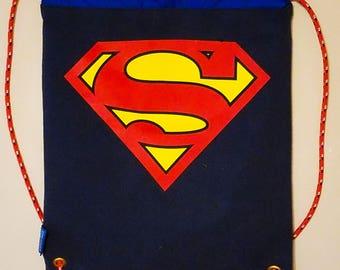 T-Shirt Cinch Bag - Super Man