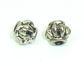 PM51 Metal Pearl, bag of 20 beads