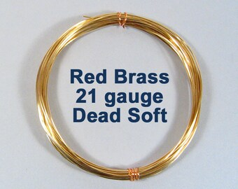21ga 50ft DS Yellow Brass Wire