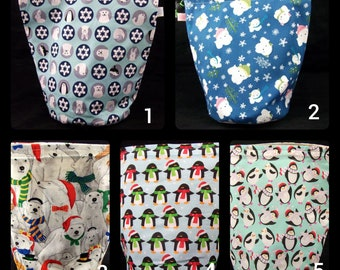 Polar bears and penguins project bags