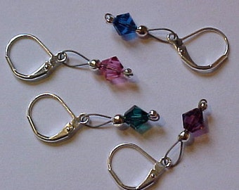 Removable Stitch Markers With Swarovski Crystals - Item No. 925