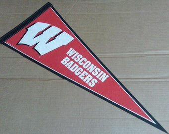 Wisconsin Badgers Pennant - Full Size