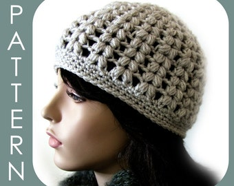 The Vivian Cap - Crochet Pattern PDF (2 styles in 1 with optional visor instructions included)