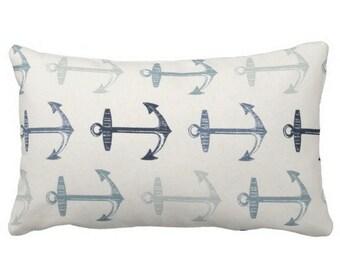 Outdoor Pillows, Nautical Pillows, Outdoor Nautical Pillows, Blue White Outdoor  Pillow, Outdoor