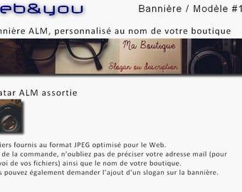 Custom banner, avatar and shop 'Voyage'