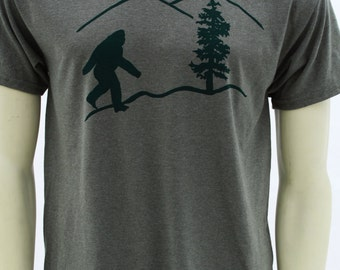 Oregon Bigfoot | Men's classic T Shirt | Sasquatch | up to 5XL | Yetti | Pacific northwest |