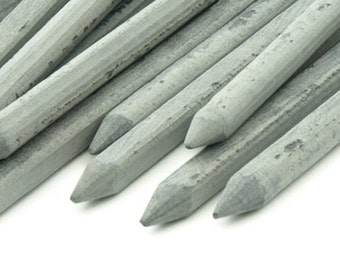12 Old School Real Slate Pencils