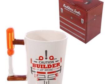 Screwdriver Handle Mug | Builders | Gift