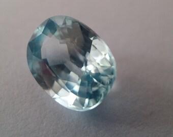 1.90 Ct Natural Cambodian Blue Zircon Gemstone