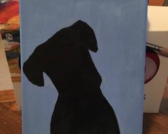 Boxer - Acrylic on Canvas