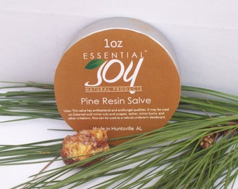 Pine Resin Salve. CLEARANCE,  skin care. Anti-fungal. Salves and Balms. Herbal Salve.  Insect Repellant