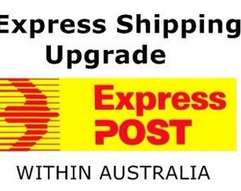 Express shipping upgrade - for Australian customers only! Australia Post express upgrade