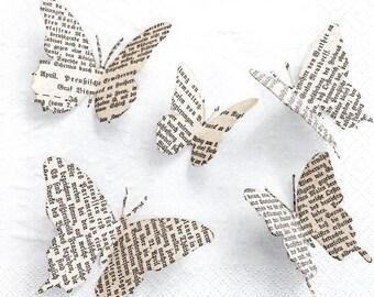 179 - Butterfly paper napkin