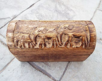 Elephant jewelry box Etsy