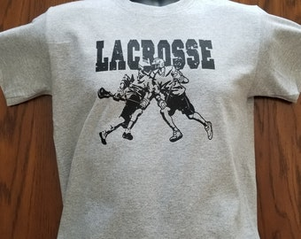Lacrosse, T-shirt. Adult & Youth Sizes