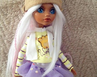 Clawdeen Wolf custom doll MADE TO ORDER Monster High repaint