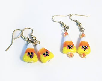 Super Cute Candy Corn Earrings