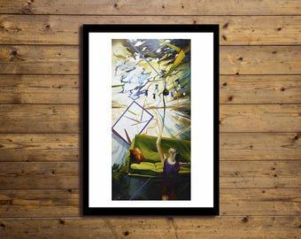 Poster Artistico 50x70cm Concept 4