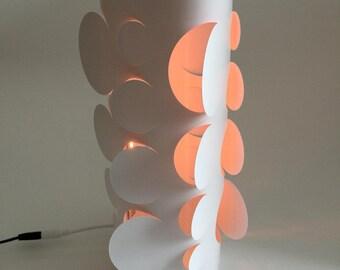 Lampe DEL de papier - Cercles