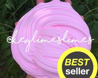 Fluffy Slime Large 8 oz, Custom You Choose Scent & Color, Cheap Slime Party Favor, Stress Relief Gift Tool, Sensory, Extras, Slime Gift, Toy