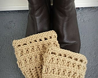Colorado Boot Toppers (cuffs) Crochet pdf pattern
